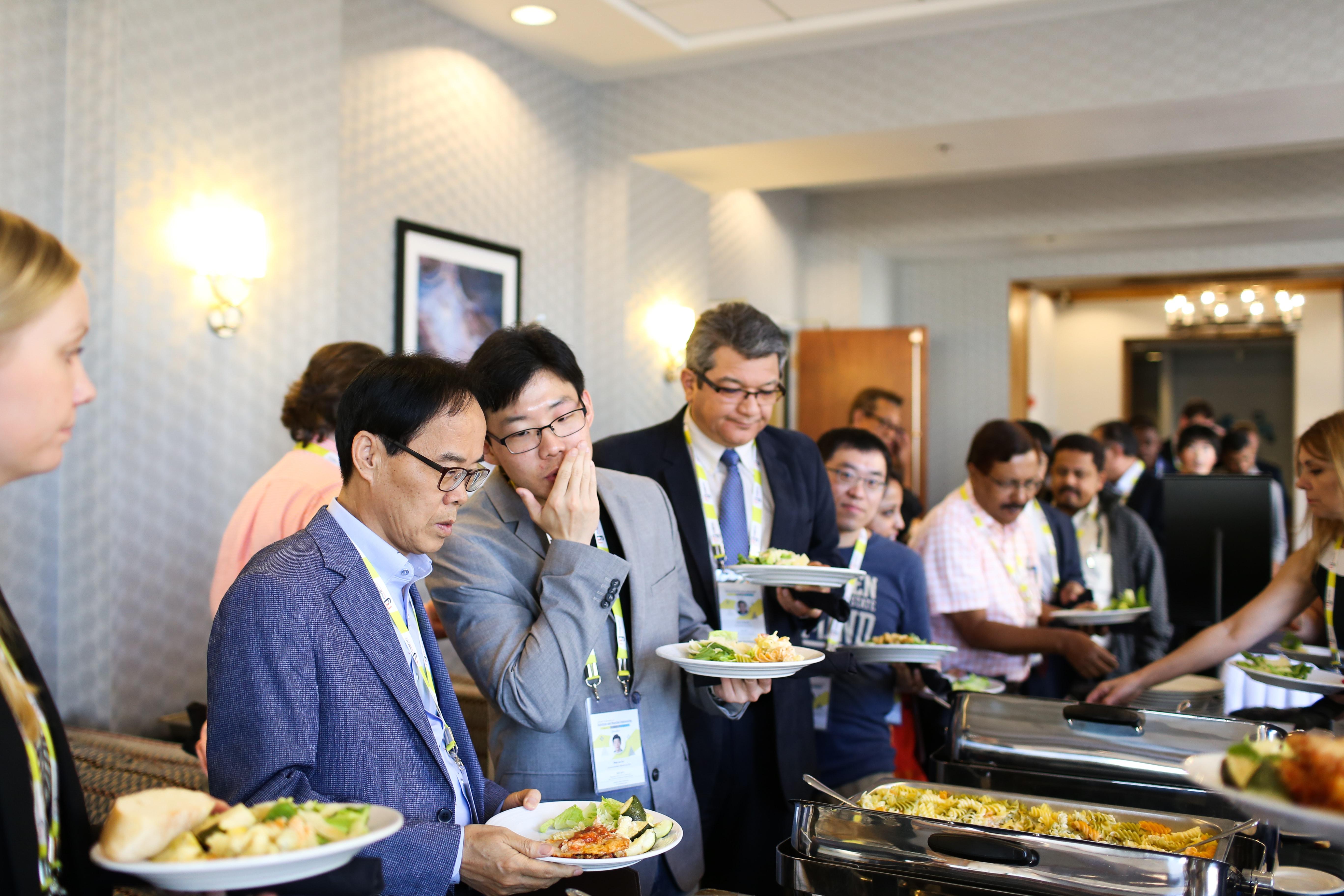 GCR 2017 speakers during lunch break